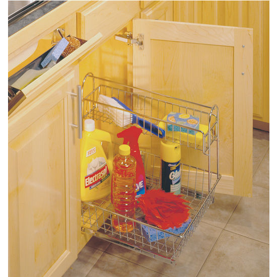 Undersink Organizer - Frosted Nickel