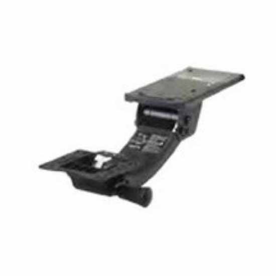 Knape & Vogt Adjustable Lift and Lock/Sit to Stand Keyboard Arms in Black Finish