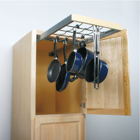 Knape & Vogt Pot & Pan Pantry Pull-Out Cabinet Organizer ...