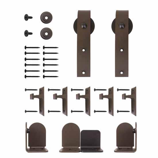 Aluminium Sliding Door Hardware Salzburg Series Short
