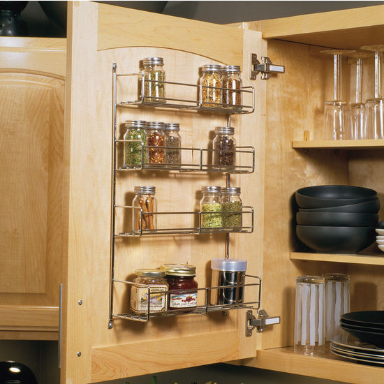 Perfect Wire Door Mounted Spice Racks