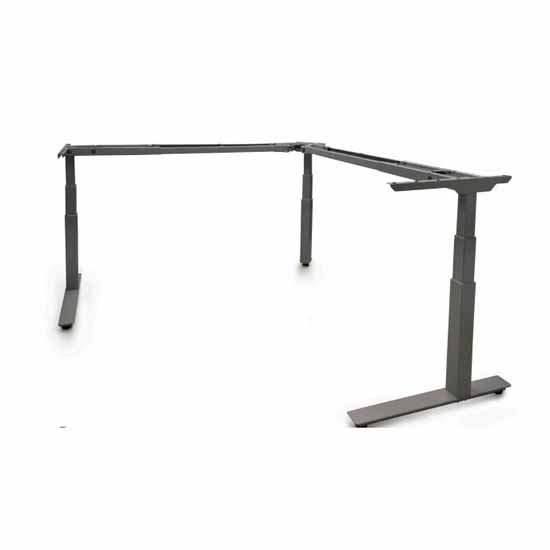 Knape & Vogt Allegretto Height Adjustable Table Frame Kit with 3-Legs and Electric Motor