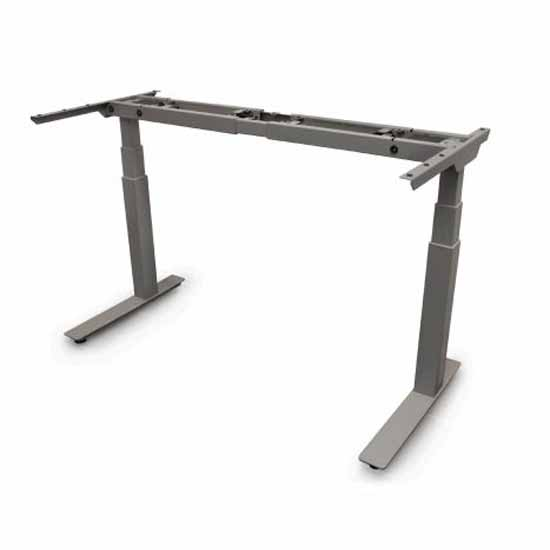 Knape & Vogt Allegretto Height Adjustable Table Frame Kit with 2-Legs and Electric Motor