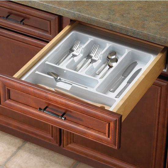 Knape Amp Vogt Single Tiered Kitchen Cutlery Drawer Insert