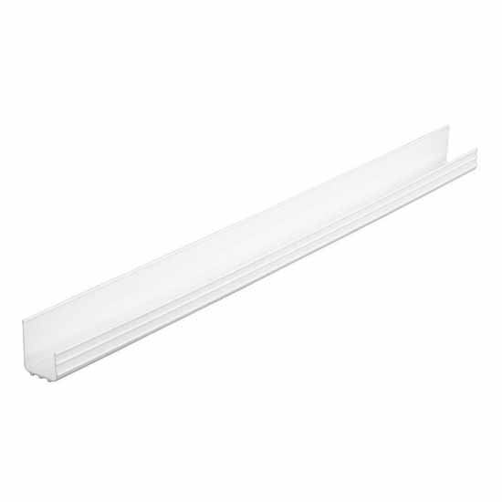 Knape & Vogt Extruded Sink Front Trays Cabinet Organizer, White