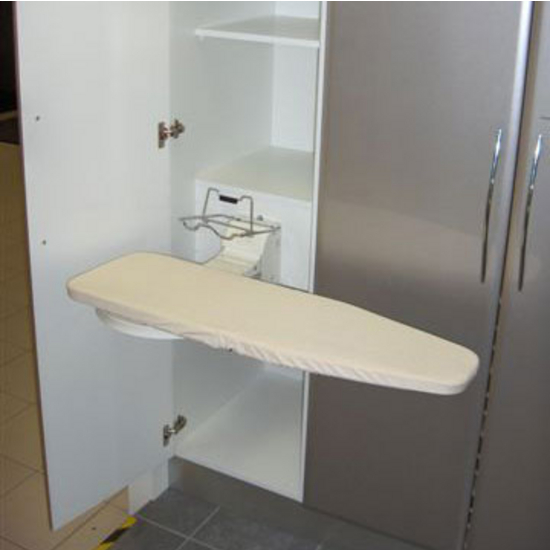 Wall Hanging Ironing Board ironing boards - lifestyle vertical fold-away wall mounted ironing