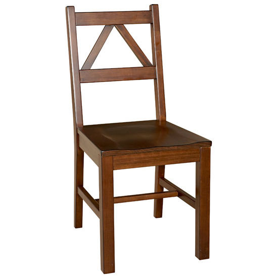 Linon Titian Chair, Antique Tobacco