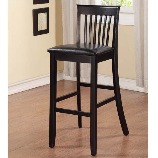 Linon Torino Collection Craftsman Counter Stool With Wood