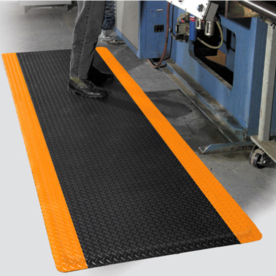 mat pro diamond foot™ anti-fatigue industrial floor mat for