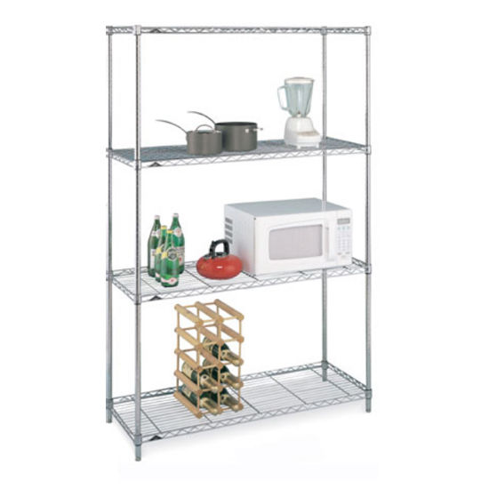 "Inter Metro Storage Unit, 4 Shelves, 48"" x 18"" x 74-1/2"""
