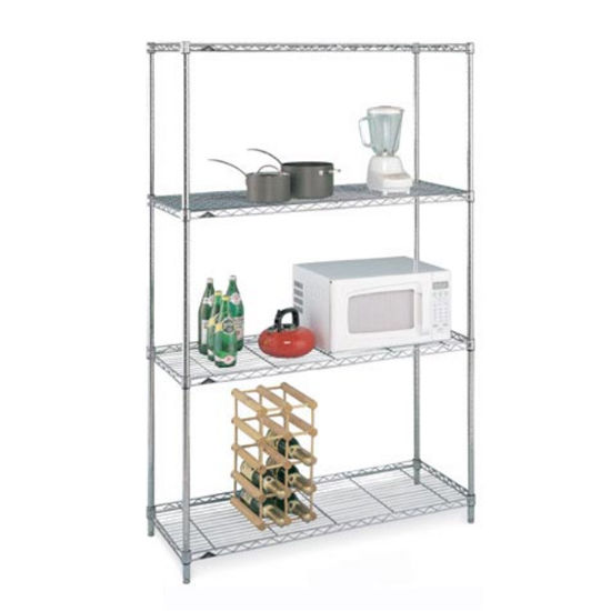 "Inter Metro Storage Unit, 4 Shelves, 36"" x 14"" x 54-5/8"""