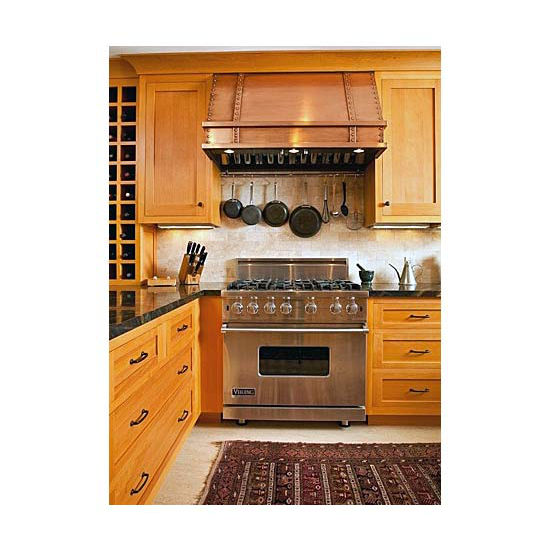 View Larger Image  sc 1 st  KitchenSource.com & Range Hoods - PS1018 Wall Mount Pro Style Canopy Rangehood by ...