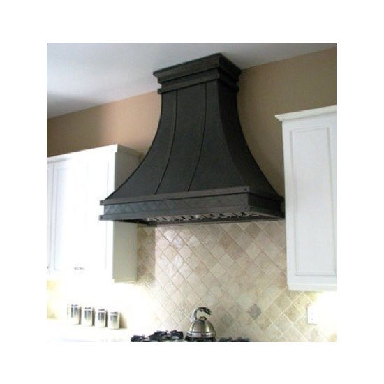 Modern Aire PS33 Professional Series Curved Wall Mount Rangehood, Oil Rubbed Bronze