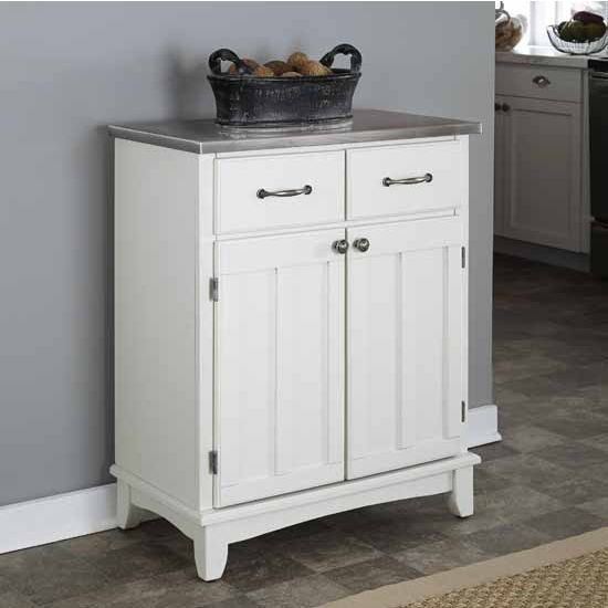 Home Styles Mix and Match Buffet Kitchen Cart