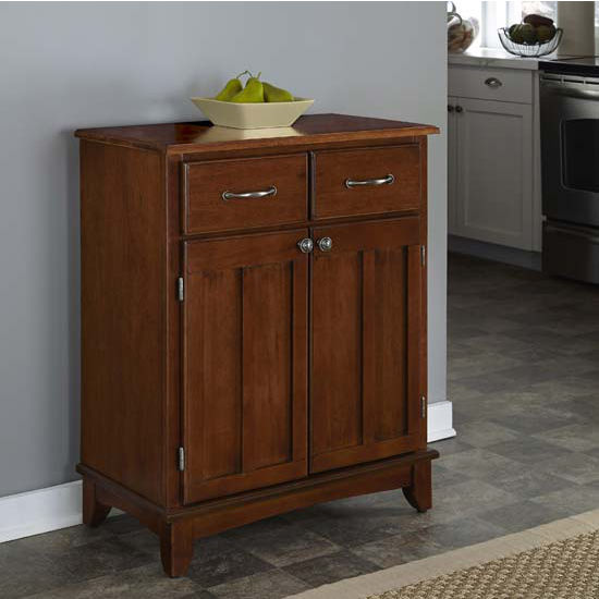 Home Styles Mix and Match Kitchen Buffet Cart
