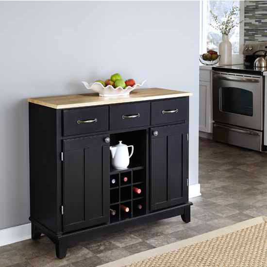 Home Styles Mix and Match Buffet Server Island