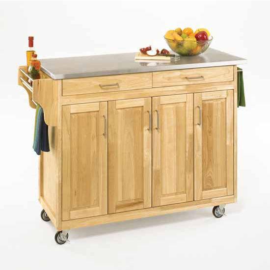 Kitchen Carts Mix And Match Create A Cart Natural Finish