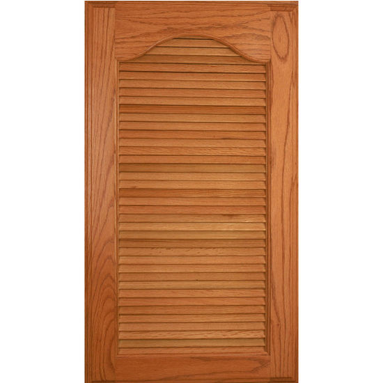 Replacement Oak Kitchen Cabinet Doors: 36'' Wood Kitchen Cabinet Louver Panel Door