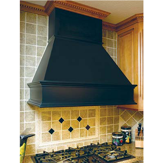 "Wood Range Hoods: 30'', 36"", 42"", And 48"" Wooden Wall Mounted"