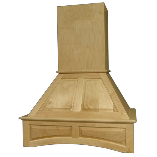 Omega National Signature Deluxe Arched Wall Mount Range Hood with Liner for Broan Ventilation