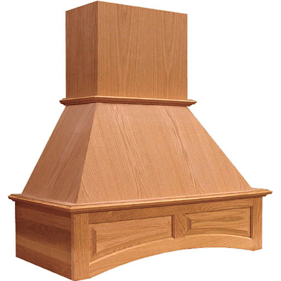 Wood Chimney Hoods ~ Range hoods  quot and wooden wall mounted
