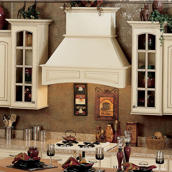 Wood Range Hoods: Paintable Range Hood #ZI33