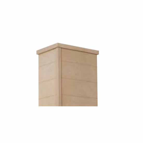 Omega National Tapered Farmhouse Hood Chimney with Trimmable Design in Multiple Sizes and Finishes