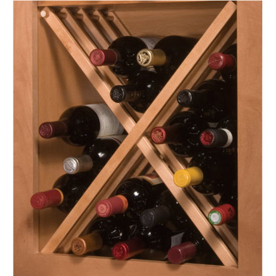 Russian River Cabinet Mount Wine Racks