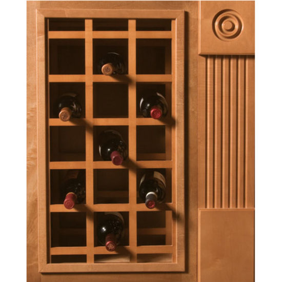 Sonoma Series Cabinet Mount Wine Lattice