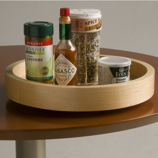 Omega National Select Spice Maple Wood Lazy Susan For