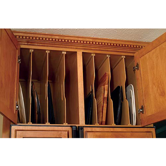 Interior Kitchen Cabinet Tray Dividers tra sta kitchen tray dividers by omega national kitchensource com pan organizer
