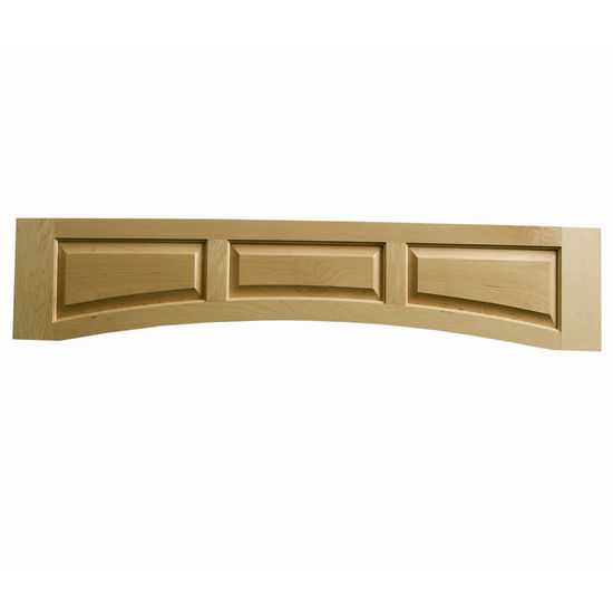 Omega National Solid Wood Raised Panel Valance, 60� W x 10-1/2� H