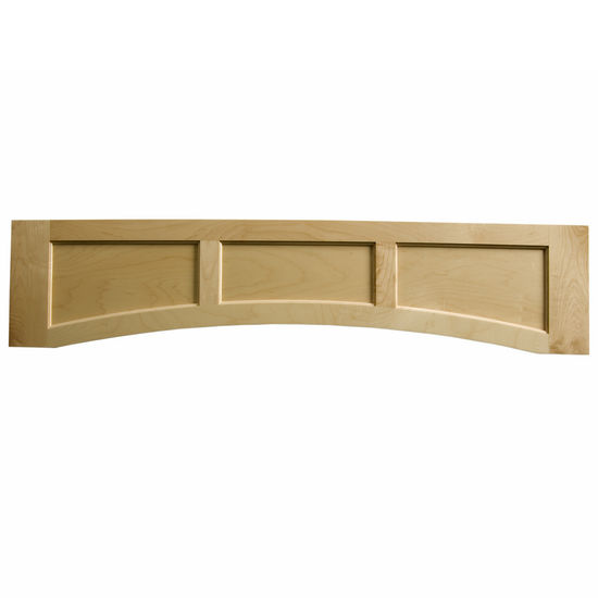 "Omega National Solid Wood Flat Panel Valance, 60"" W x 10-1/2"" H"
