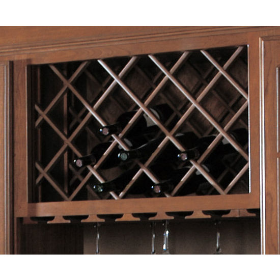 Cabinet Mount Wine Lattices
