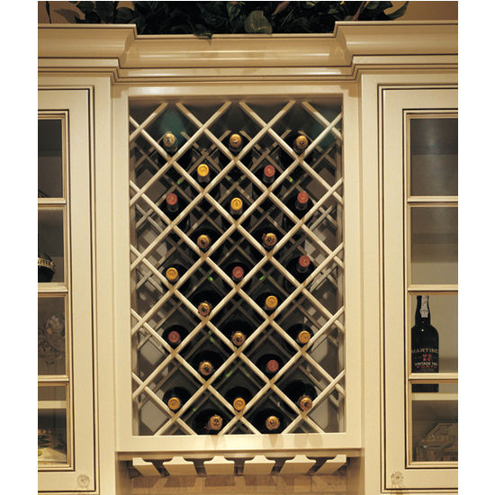 Premium Cabinet Mount Wine Lattices