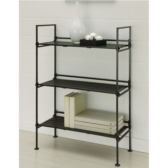 Neu Home Ebonize Collection 3 Tier Shelf
