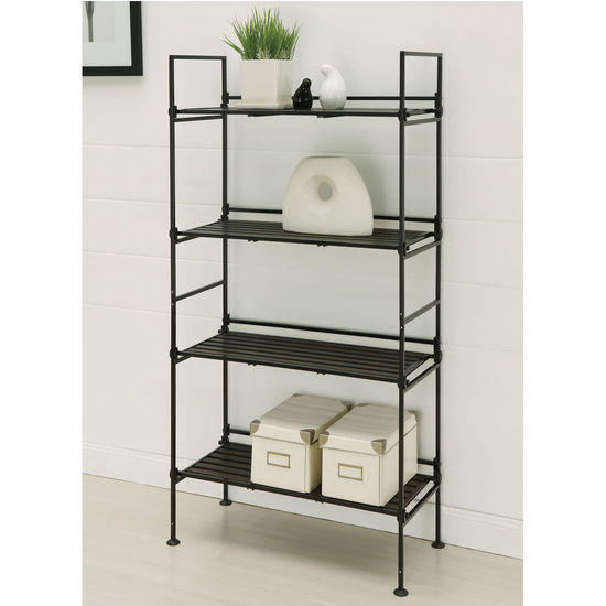 Neu Home Ebonize Collection 4 Tier Shelf