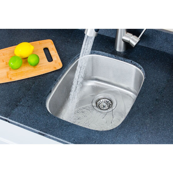 Sink Set Installed In Use