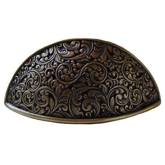 Bin pull, Saddleworth, Antique Brass