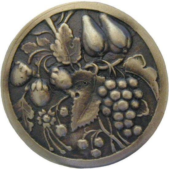 Knob, Tuscan Bounty, Antique Brass