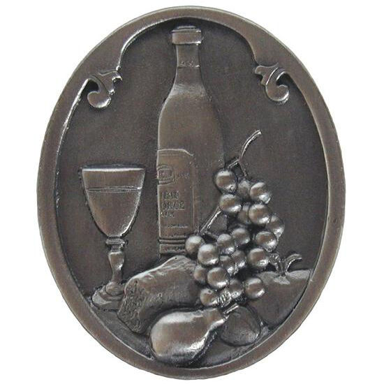 Knob, Best Cellar (Wine), Antique Pewter