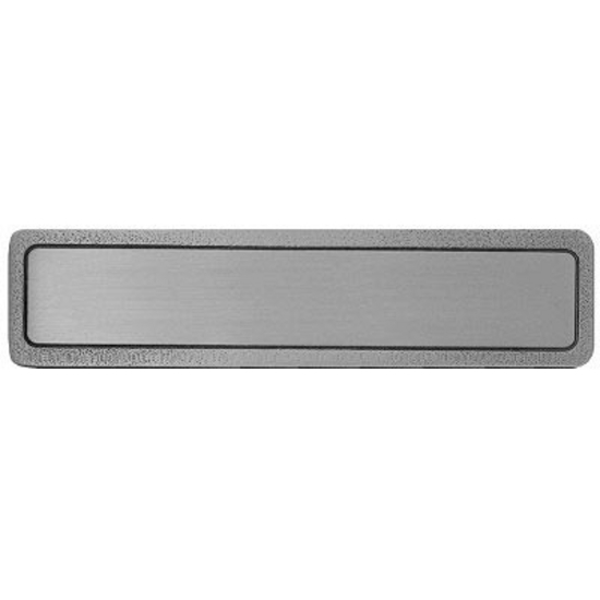 Horizontal or Veritcal, Antique Pewter, Plain