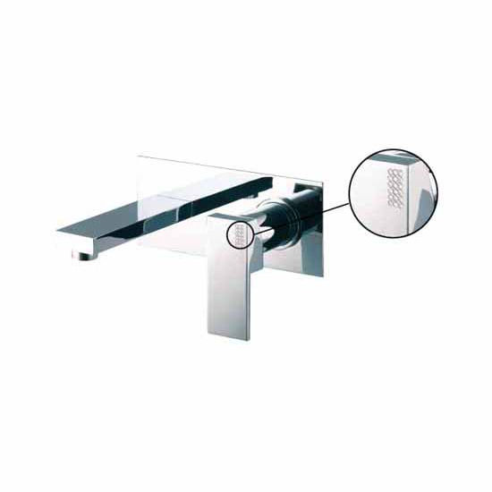 Fima Wall Mounted Single Lever Wash Basin Mixer Spout