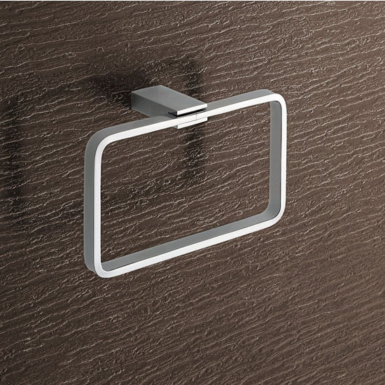 Nameeks Gedy Towel Ring, Chrome