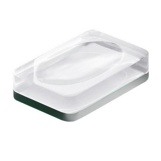 Nameeks Rectangle Resin Soap Holder
