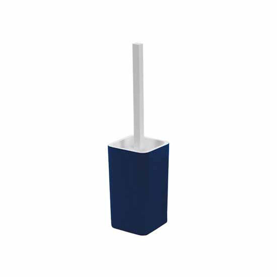 Nameeks Free Standing Square Resin Toilet Brush Holder