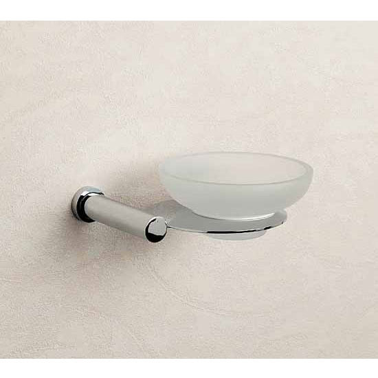 Nameeks Windisch Cylinder Series Wall Mounted Soap Dish Frosted Glass