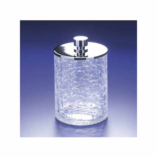 Nameeks Windisch Accessories Crackled Glass Cotton Ball Jar