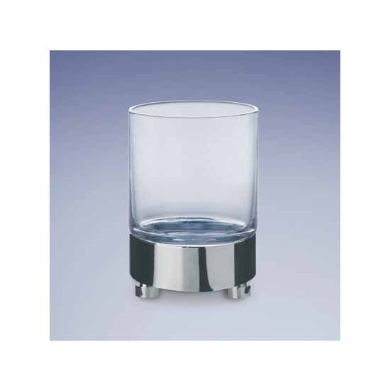 Nameeks Windisch Accessories Plain Glass Tumbler