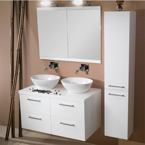 a16 wall mounted sink bathroom vanity set